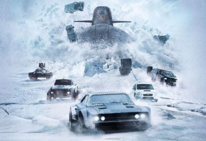 """Scene from """"The Fate of the Furious"""""""
