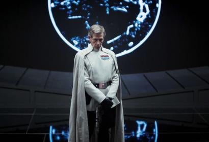 Actor Ben Mendehlson in a scene from Rogue One