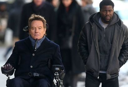 "A scene from ""The Upside"""