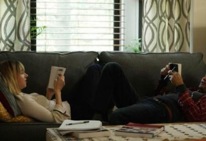 Scene from The Big Sick