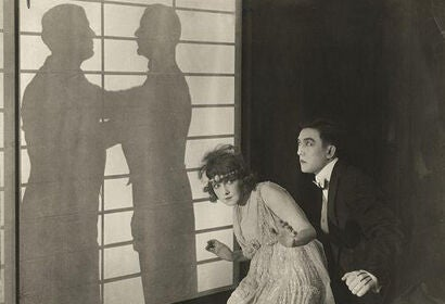 "Sessue Hayakawa and Fannie Ward in ""The Cheat"" (1915)"