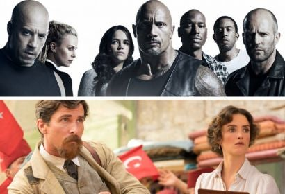 """Scenes from """"The Fate of the Furious"""" and """"The Promise"""""""