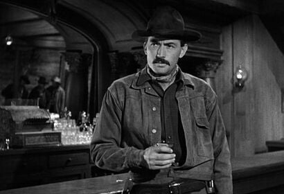 "Gregory Peck in ""The Gunfighter"" (1950)"