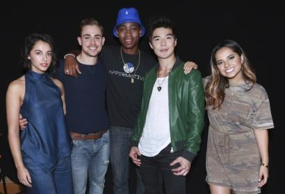 The new Power Rangers at Comic-Con 2016