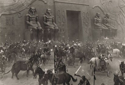 "Scene from ""The Ten Commandments"" (1923)"