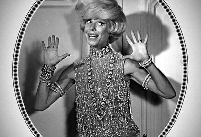 Carol Channing, Golden Globe winner