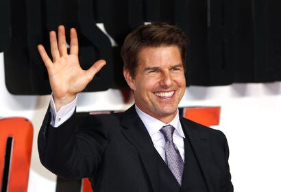 Tom Cruise at the Mission Impossible-Fallout pemiere in London, 2018