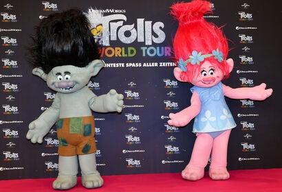 Promotion for Trolls World Tour