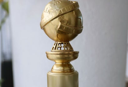 New Golden Globe statue, 2019