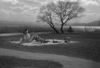 "A scene from ""Ugetsu"", 1953"