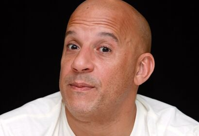 Actor and producer Vin Diesel