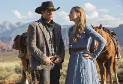 """A scene from the series """"Westworld"""""""