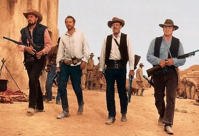 "A scene from ""The Wild Bunch"" (1969)"