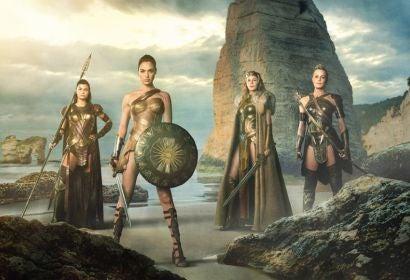 """Scene from """"Wonder Woman"""""""