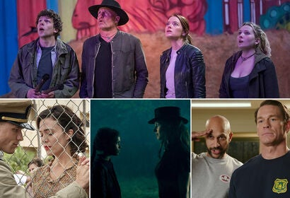 "Scenes from ""Zombieland: Doubletap"", ""Midway"", ""Doctor Sleep"", ""Playing with Fire"""