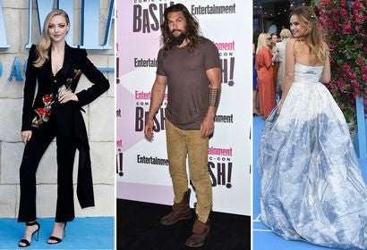 Amanda Seyfried, Jason Momoa and Lily James