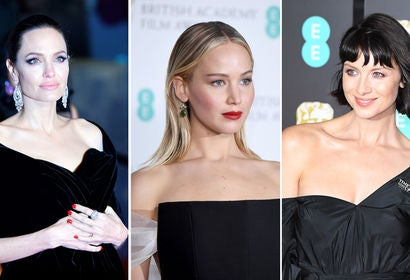 Angelina Jolie, Jennifer Lawrence and Caitriona Balfe