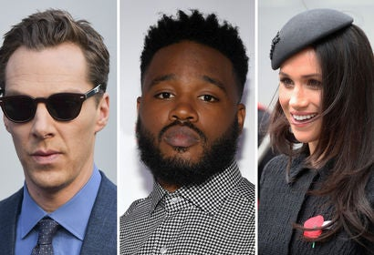 Beneditct Cumberbatch, Ryan Coogler and Meghan Markle