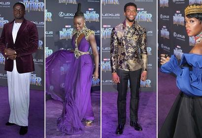 Daniel Kaluuya, Lupita Nyong'o, Chadwick Boseman and Janelle Monáe