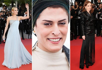 Diane Kruger, Behnaz Jafari and Isabelle Huppert