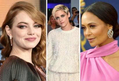 Emma Stone, Kristen Stewart, Thandie Newton
