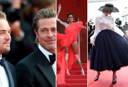 Leonardo DiCaprio, Bradd Pitt, Winnie Harlow, Elle Fanning