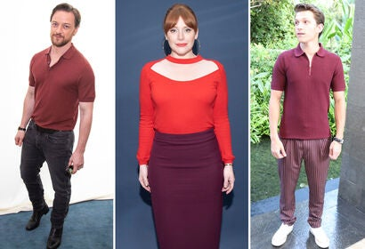 James McAvoy, Bryce Dallas Howard, Tom Holland