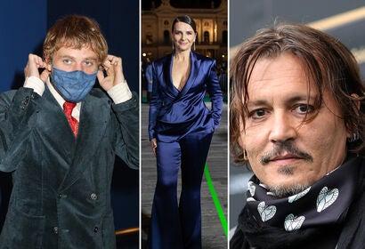 Juliette Binoche, Johnny Depp