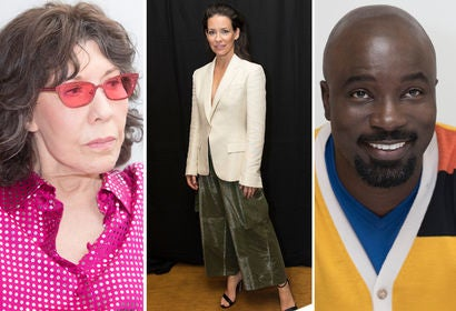 Lily Tomlin, Evangeline Lilly and Mike Colter