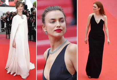 Louise Bourgoin, Irinia Shayk and Julianne Moore