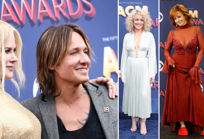Nicole Kidman with Keith Urban, Cam and Reba McIntire