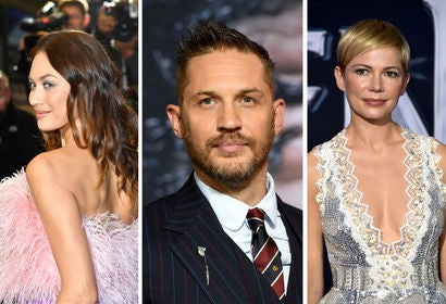 Olga Kurylenko, Tom Hardy, Michelle Williams