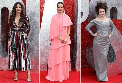Sandra Bullock, Sarah Paulson and Helena Bonham Carter