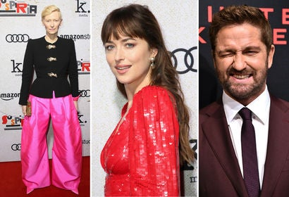 Tilda Swinton, Dakota Johnson, Gerard Butler