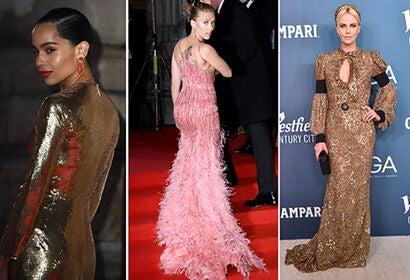 Zoe Kravitz, Scarlett Johansson, Charlize Theron