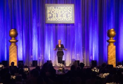 Jamie Lee Curtis at the Annual Grants Banquet 2016
