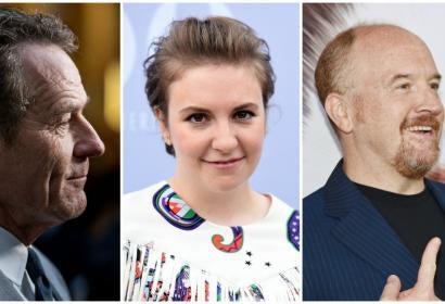 Bryan Cranston, Lena Dunham, Louis CK
