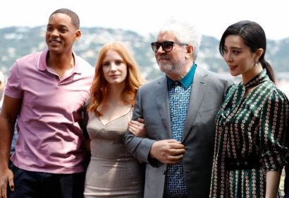 Will Smith, Jessica Chastain, Pedro Almodovar and Fan Bingbing