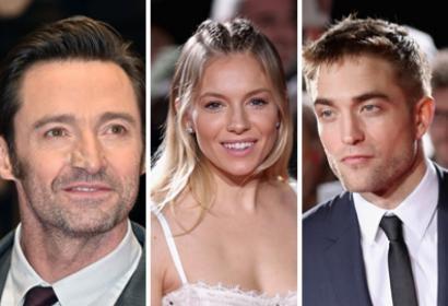 Hugh Grant, Sienna Miller and Robert Pattinson