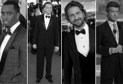 Sean Combs, Leonard DiCaprio, Gerard Butler and Pierce Brosnan