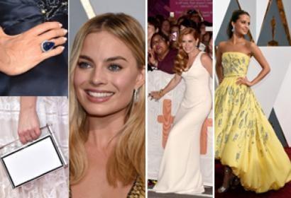 Sofia Vergara's Ring, Kaley Cuoco's Purse, Margot Robbie, Amy Adams and Alicia Vikander