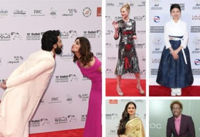 Ranveer Singh and Vaani Kapoor, Melanie Griffith, Soo-in Choi, Rekha and Nick Cannon