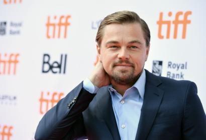 Leonardo DiCaprio, Golden Globe winner, in Toronto 2016