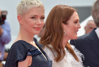 Julianne Moore and Michelle Williams in Cannes 2017