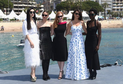 Fan Bingbing, Marion Cotillard, Jessica Chastain, Penelope Cruz and Lupita Nyong'o in Cannes 2018