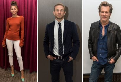 Zendaya, Charlie Hunnam and Kevin Bacon