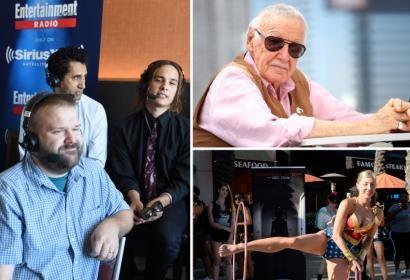 Robert Kirkman and Stan Lee