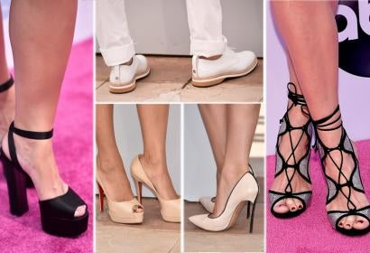 From the (Not Always) Red Carpet: The Shoes of Summer