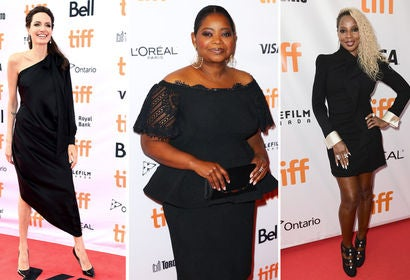 Angelina Jolie, Octavia Spencer and Mary J. Blige