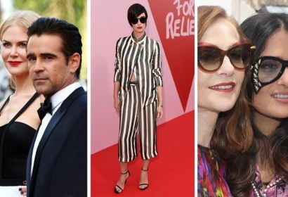 Nicole Kidman & Colin Farrell; Paz Vega; Isabelle Huppert & Salma Hayek